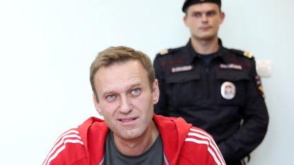 Russische oppositieleider Navalny alweer even opgepakt na huiszoekingen