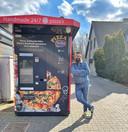 Atilla Ertas uit Zele plaatste al 15 pizza-automaten verspreid over België en Nederland.