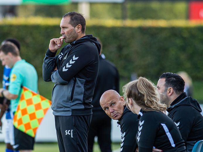 Scott Calderwood, trainer en technisch manager van DOVO.