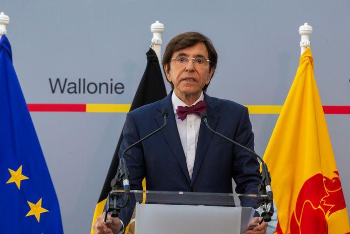 Le ministre-président wallon Elio Di Rupo.