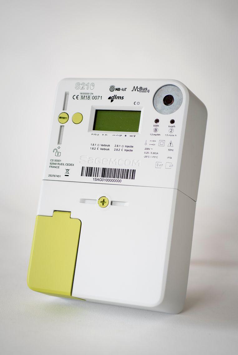 De digitale meter Beeld RV