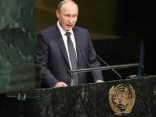 Poetin: wel luchtaanvallen geen grondtroepen Syrië