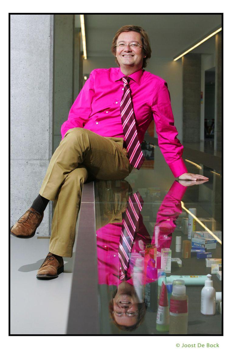 Marc Coucke als CEO van Omega Pharma in 2006. Beeld ID