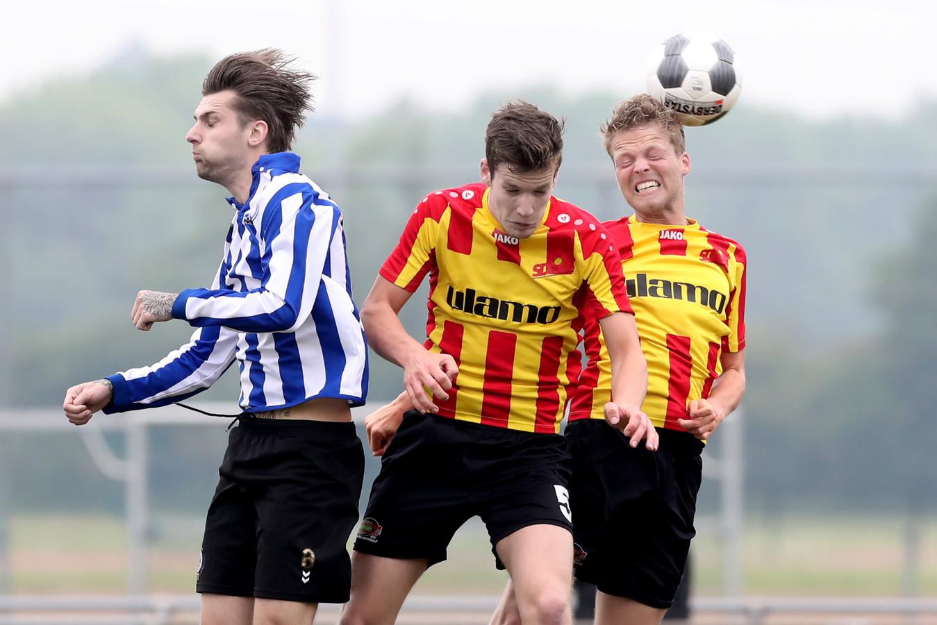 SDOUC wilde dinsdag 11 september niet spelen tegen FC Winterswijk.
