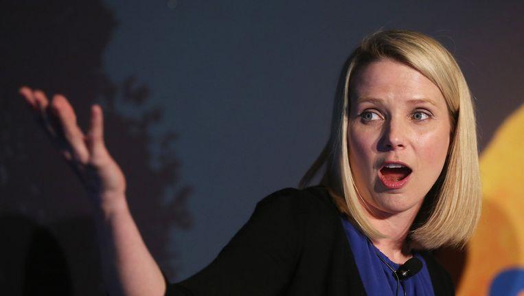 Directeur van Yahoo Marissa Mayer. Beeld ANP