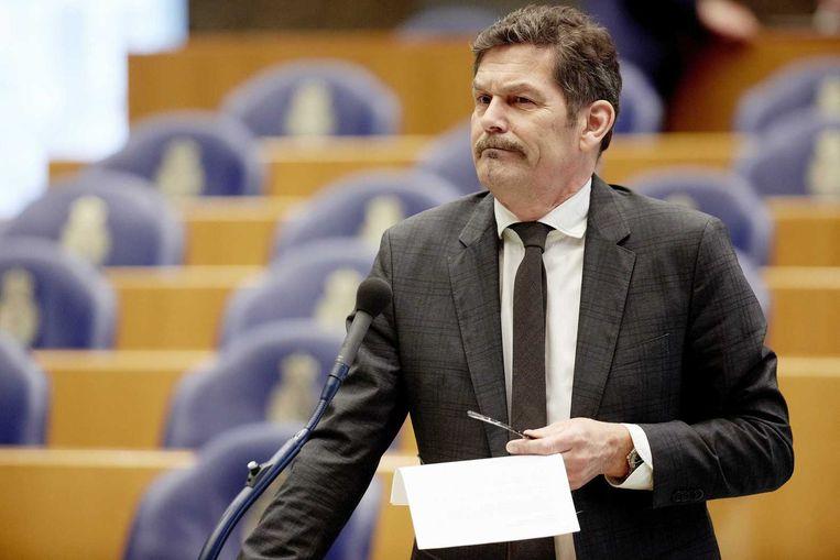 PVV-Kamerlid Harm Beertema: 'De AOb wil alleen maar gelijkgestemden aan het woord.' Beeld anp