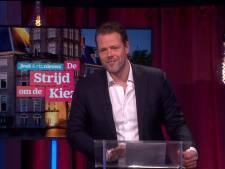 Cabaretier Martijn Koning onder vuur na 'roast' Baudet bij Jinek