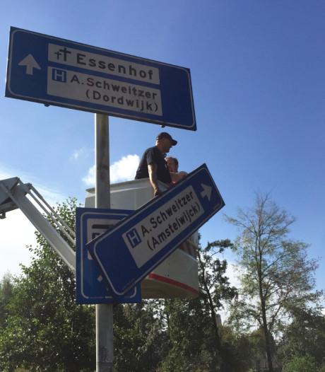 Verwijzingen naar verdwenen ziekenhuis Amstelwijck eindelijk weggehaald