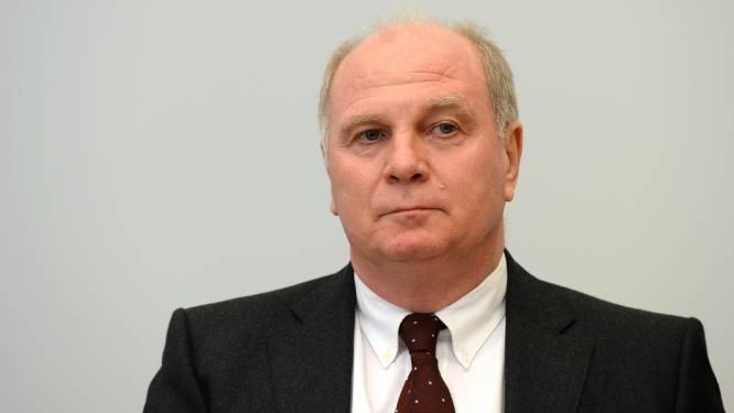 Ex-Bayernvoorzitter Uli Hoeness mag gevangenis uit