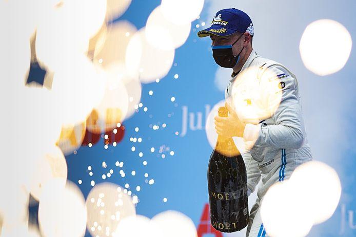 Stoffel Vandoorne won in Rome de vorige wedstrijd van het WK Formula E en is nu vierde in de tussenstand.