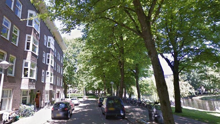 Rémon Boogaard werd doodgeschoten bij zijn huis aan de Geuzenkade. Beeld Google Street View