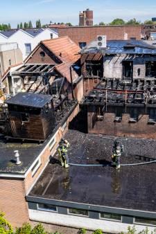 Grote brand in woning aan Vlaardingse Kortedijk