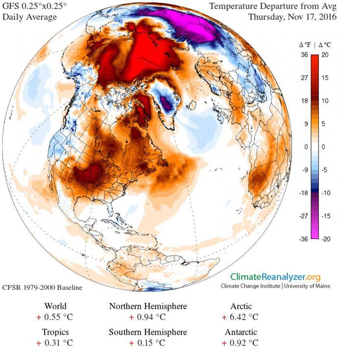 Climate Change Institute/University of Maine/Washington Post