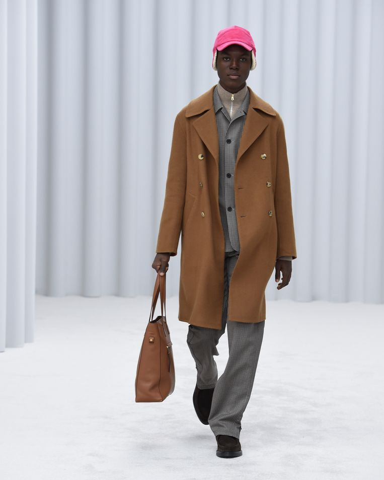 Paul Smith, herfst/winter 2021/2022. Beeld Imaxtree
