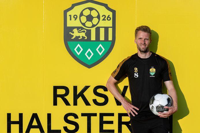Halsteren-speler Jasper Waalkens.