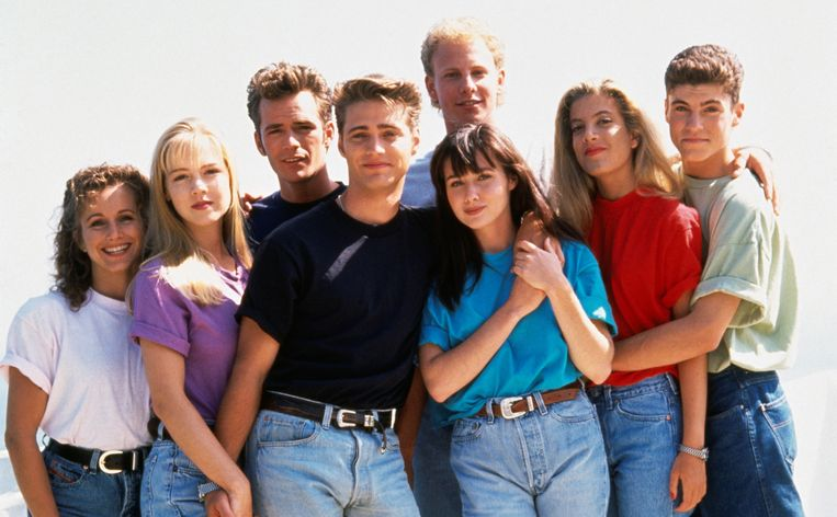 De cast van Beverly Hills 90210