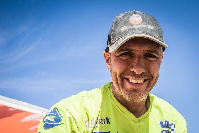 Edwin Straver overleed na een crash tijdens de Dakar-Rally. Een stralende lach van oor tot oor: zo kende iedereen hem.
