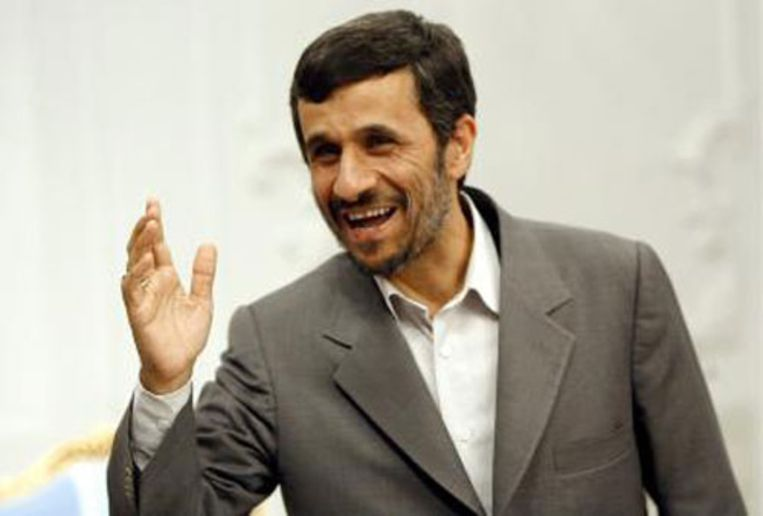 De Iraanse president Ahmadinejad (ANP) Beeld