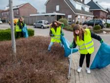 Honderden kilo's zwerfafval ingezameld in Velddriel: 'Goed voor de gemeenschapszin'