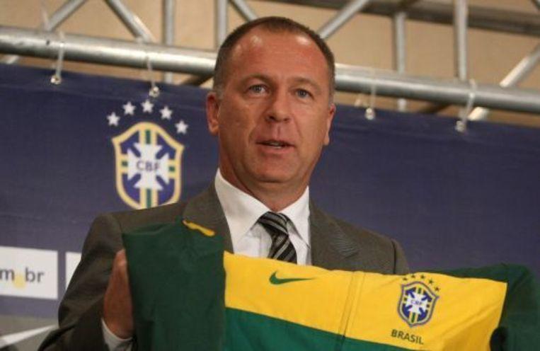 De nieuwe Braziliaanse bondscoach Mano Menezes. ANP Beeld