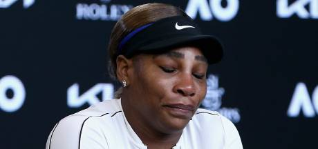 Uitgeschakelde Williams (39) verlaat persconferentie in tranen