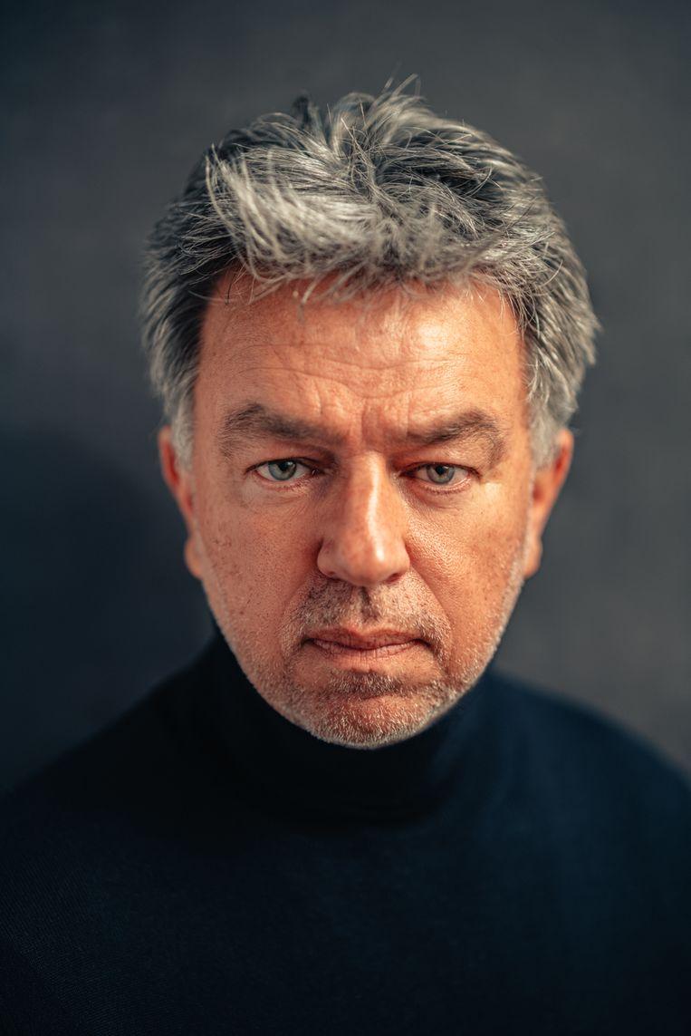 Yves Gijrath, media-ondernemer, maker van podcasts 1-2'tje met Yves en The GYGS, hoofd van MASTERS HQ. Beeld Rahi Rezvani
