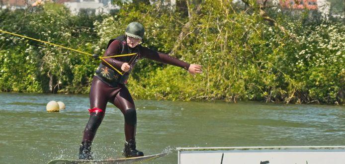 Matisse adorait pratiquer le wakeboard.