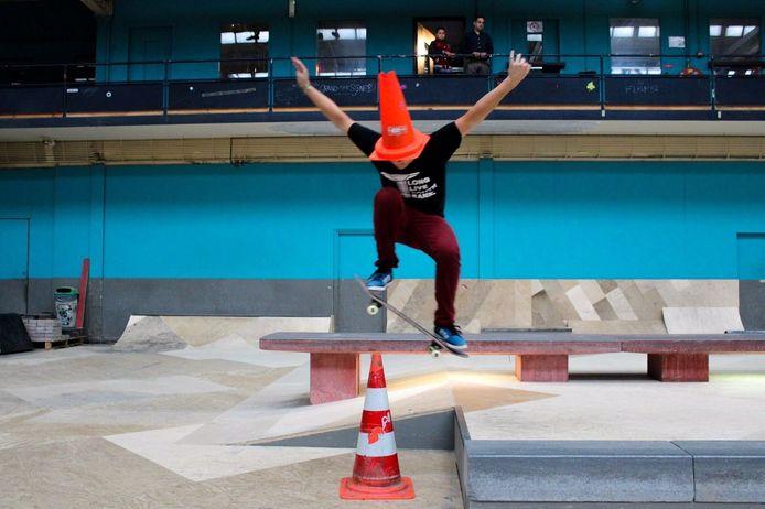 De scholieren van Durendael kenden Arian als markante, humoristische en eigenzinnige jongen. foto privécollectie