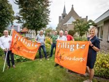 Tilligte is trots op eigen vlag: 'Zal een prachtig plaatje zijn, al die oranje vlaggen'
