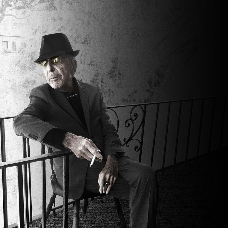 Leonard Cohen. Beeld Sharon Robinson