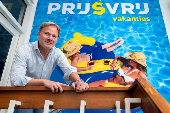 Marc van Deursen, directeur van Prijsvrij Vakanties, de onderneming die het failliete D-reizen wil overnemen.