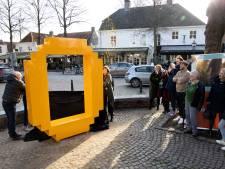 Gele 'O'-logo blijft op Markt Oirschot staan