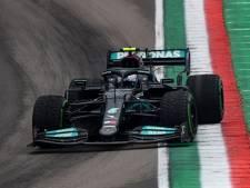 Zware crash tussen Bottas en Russell, ook Hamilton in het grind