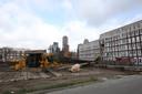 Niemand raakte gewond op de bouwplaats.