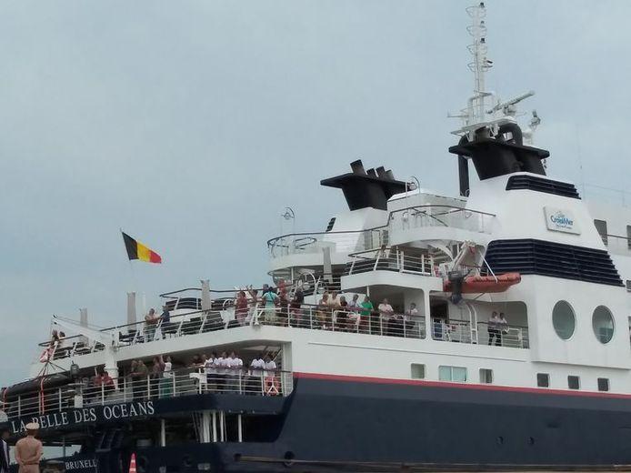 Le bateau naviguait sous pavillon belge