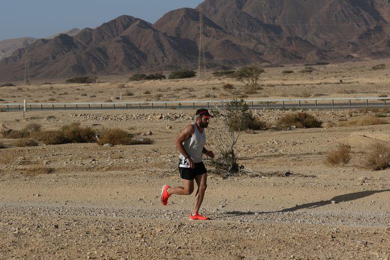 De marathons in de woestijn van Israël vallen op de laatste dag.