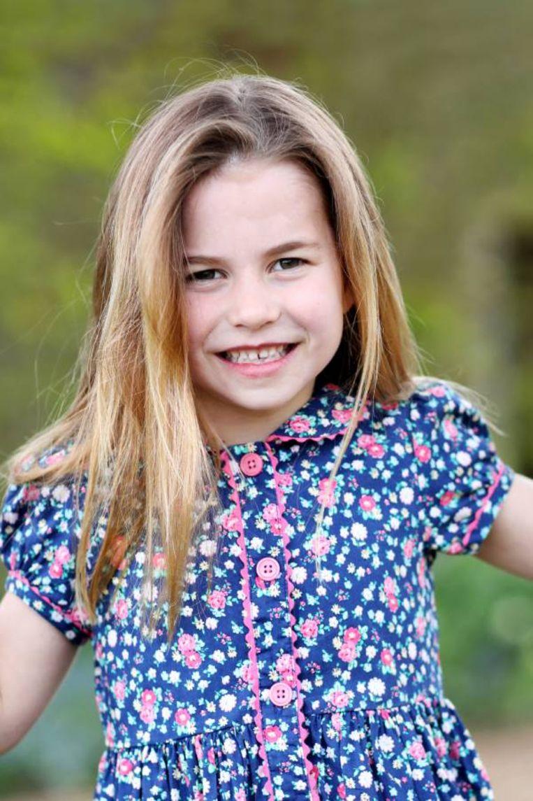 Prinses Charlotte, de dochter van William en Kate  Beeld Getty Images