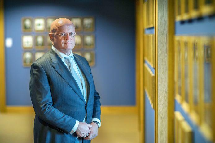 Demissionair minister Ferdinand Grapperhaus van Justitie en Veiligheid was op Prinsjesdag één van de weinige bewindspersonen die er serieus geld bij krijgt: meer dan een half miljard euro.