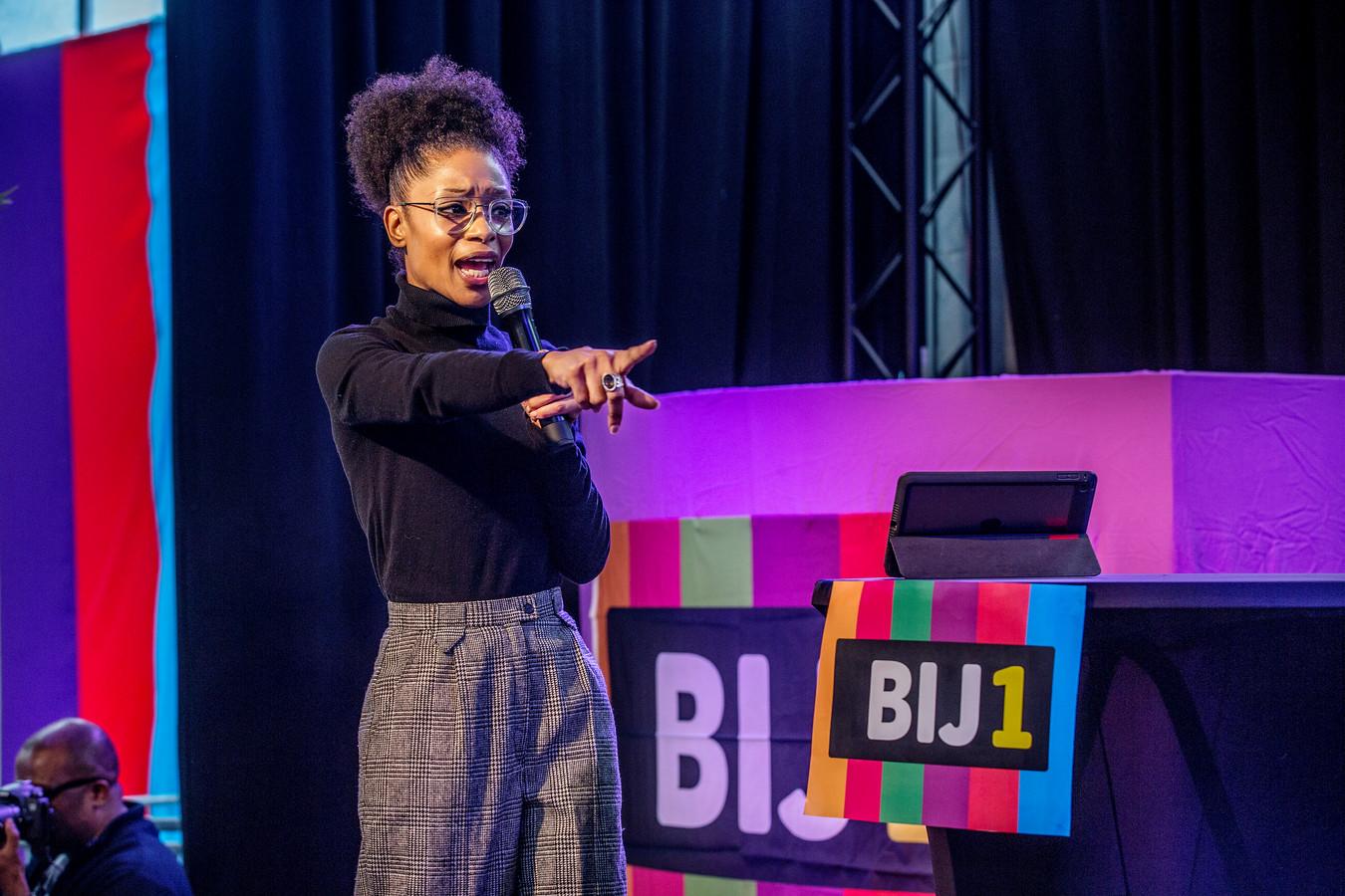 Sylvana Simons maakte vanmiddag tijdens de campagneaftrap van Bij1 bekend dat zij weer lijsttrekker wil worden.
