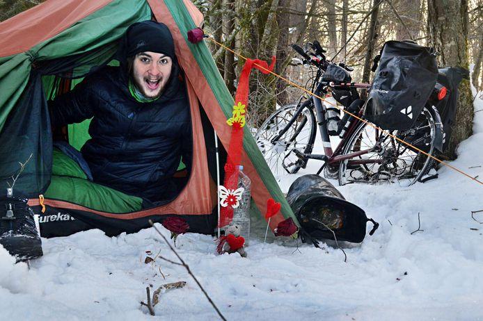 Eerder al maakte Henk van Dillen een fietstocht van een jaar.