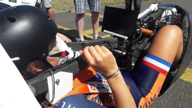 Met deze superfiets moet Lieke 122 kilometer per uur kunnen rijden