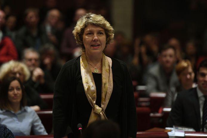 Gemeenteraadslid Tine Eerlingen (N-VA) zette de kwestie van werfverkeer in schoolomgevingen in juni opnieuw op de agenda.