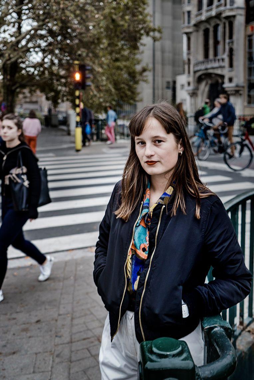 Pauline Van Marcke. Beeld Eric de Mildt