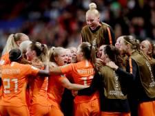 Ze speelde nog geen minuut, maar oranje-reserve Danique Kerkdijk heeft een belangrijke rol op het WK