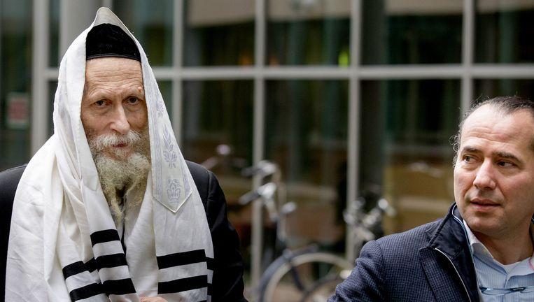 Rabbijn Berland. Beeld ANP