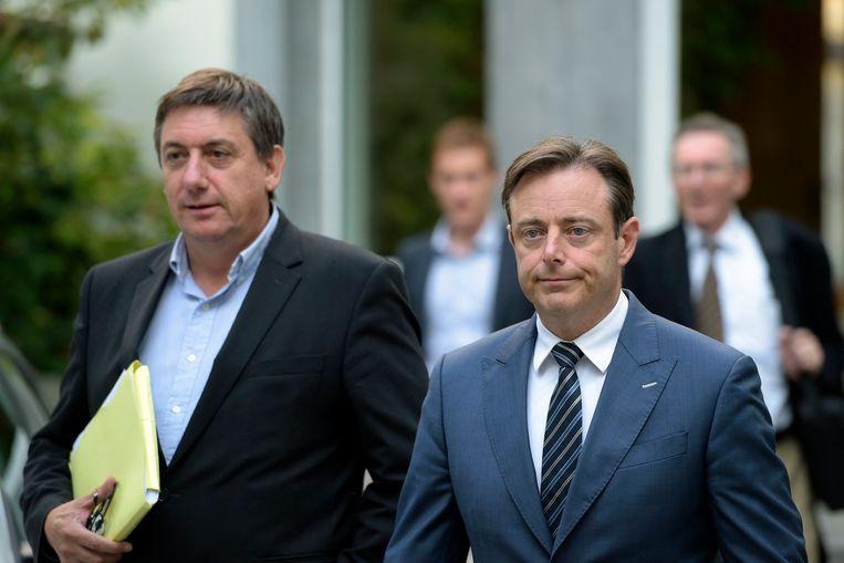 Jan Jambon en Bart De Wever. Beeld PHOTO_NEWS