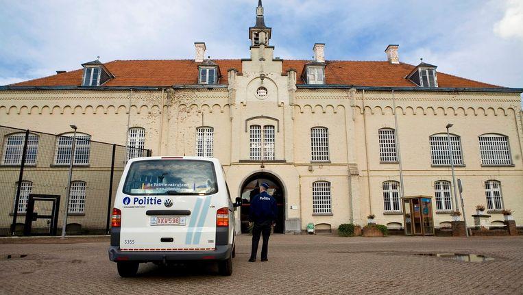 De gevangenis van Merksplas, waar een 29-jarige geïnterneerde al sinds 2007 vast zit. Beeld BELGA