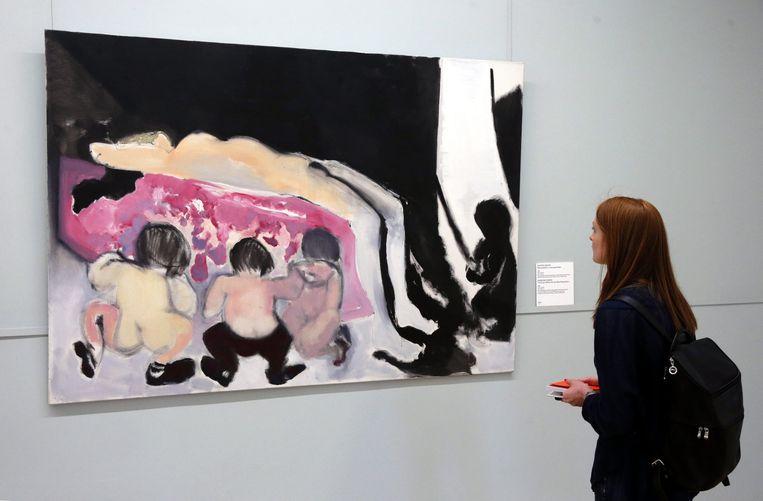 Een werk van Marlene Dumas Beeld anp