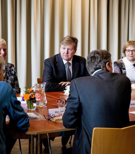 Koning noemt werkbezoeken Lieshout en Lierop 'interessant en plezierig'