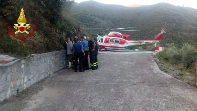 Verdwaald Belgisch koppel veilig en wel teruggevonden in bossen Ligurië, helikopter ingezet